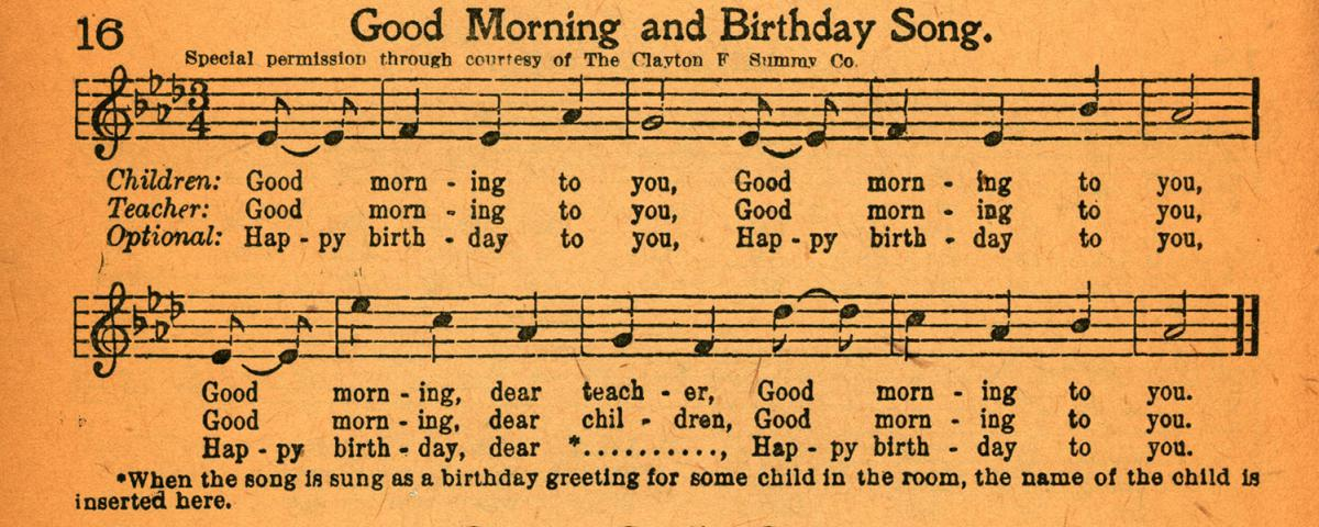 Happy Birthday song image