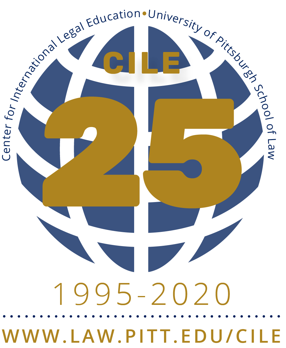 CILE Globe with 25 Years